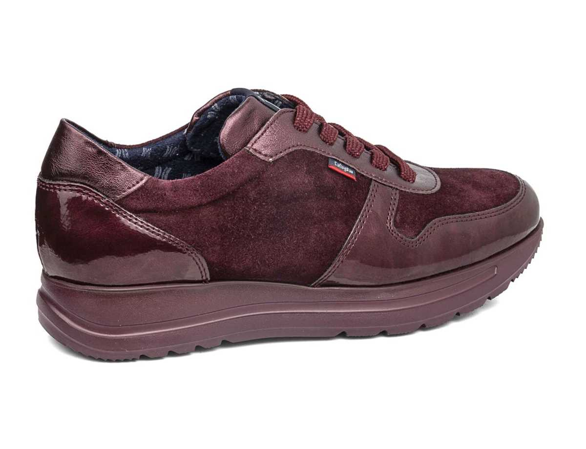 Callaghan Mujer Zapato Sneakers Rojo