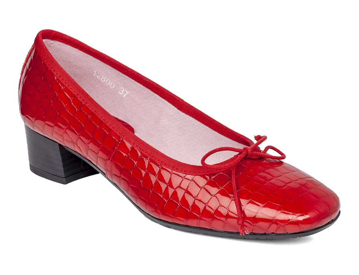 Callaghan Mujer Bailarina Vestir Rojo