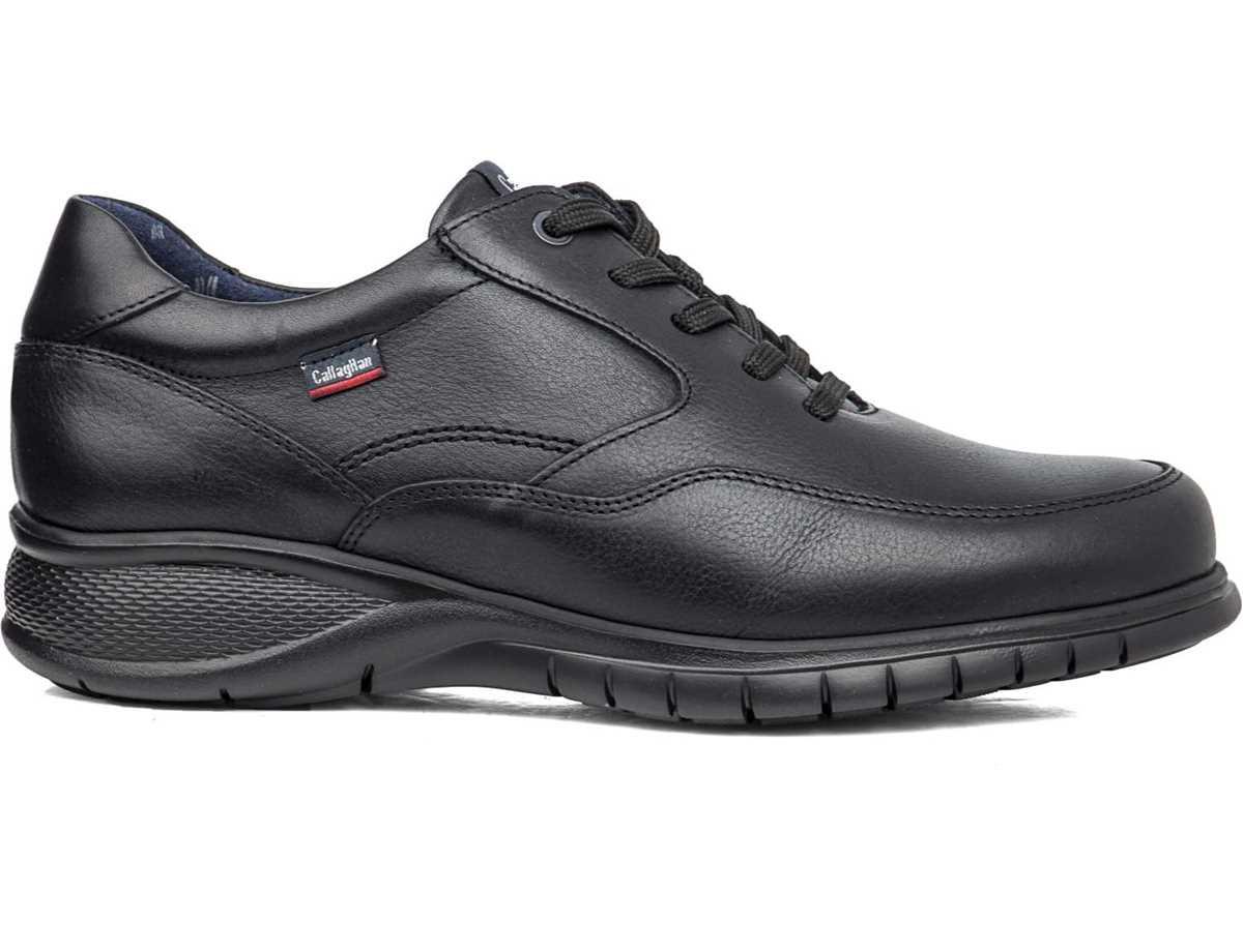 Callaghan Hombre Zapato Sport Negro