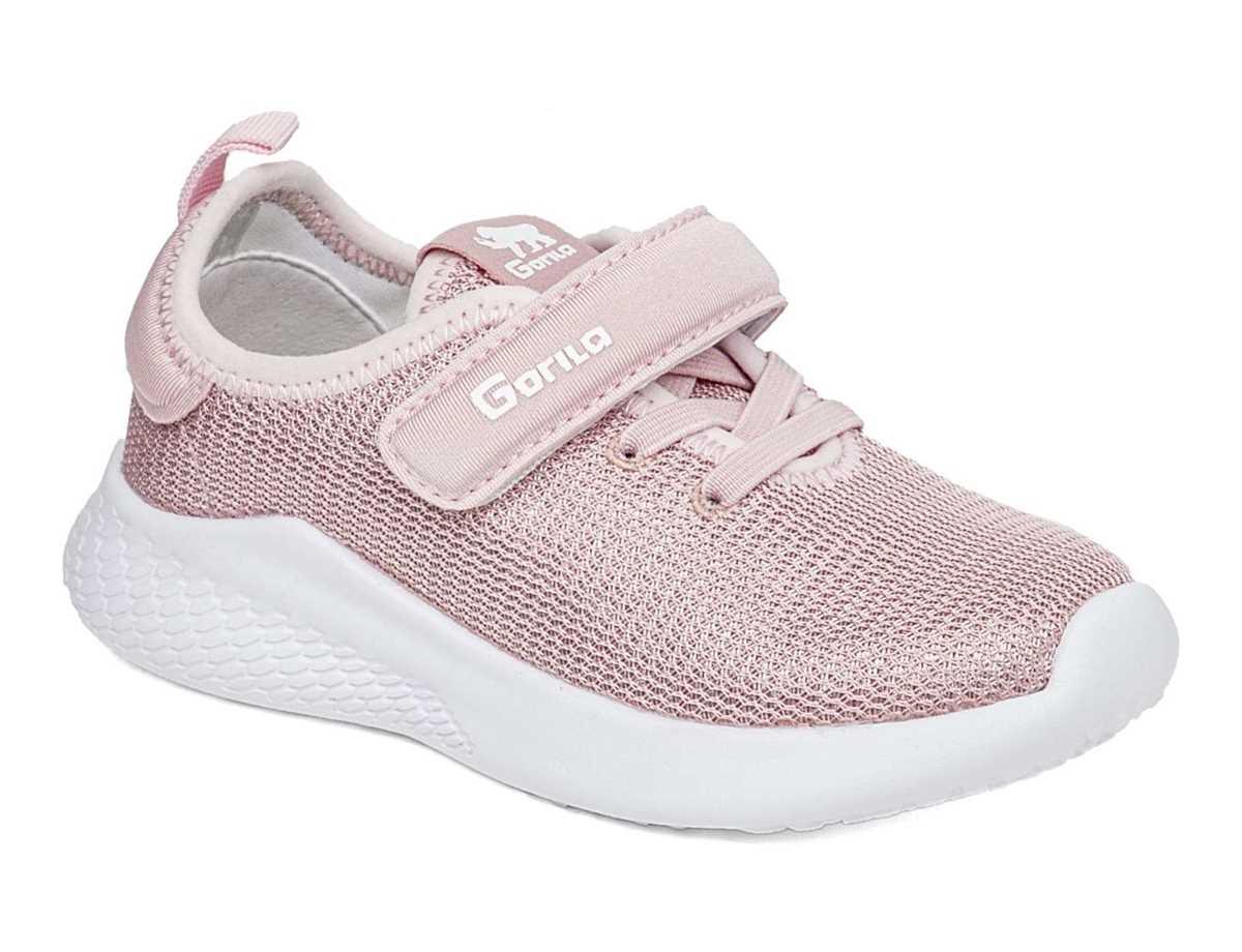 Gorila Niña Zapato Casual Rosa