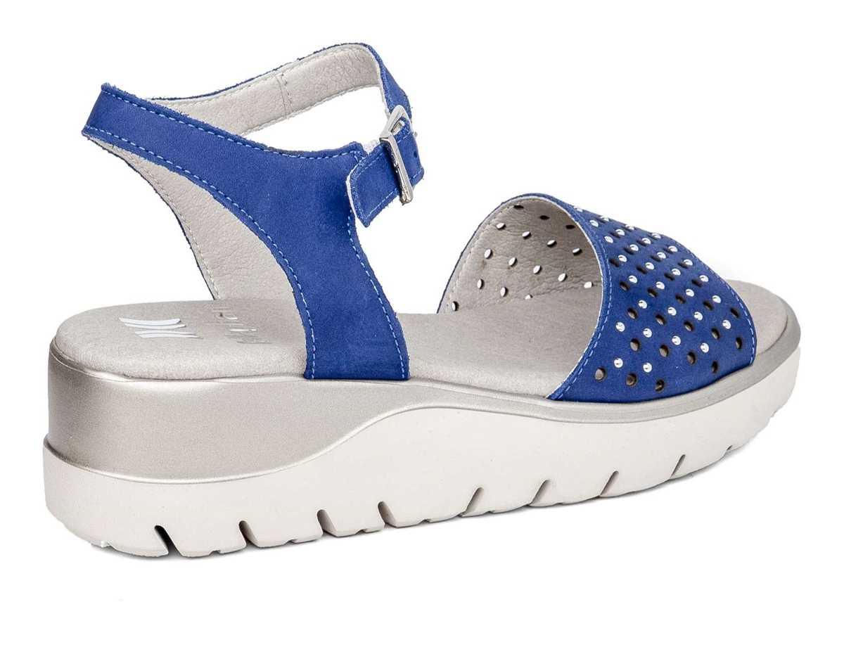 Callaghan Mujer Sandalia Casual Azul