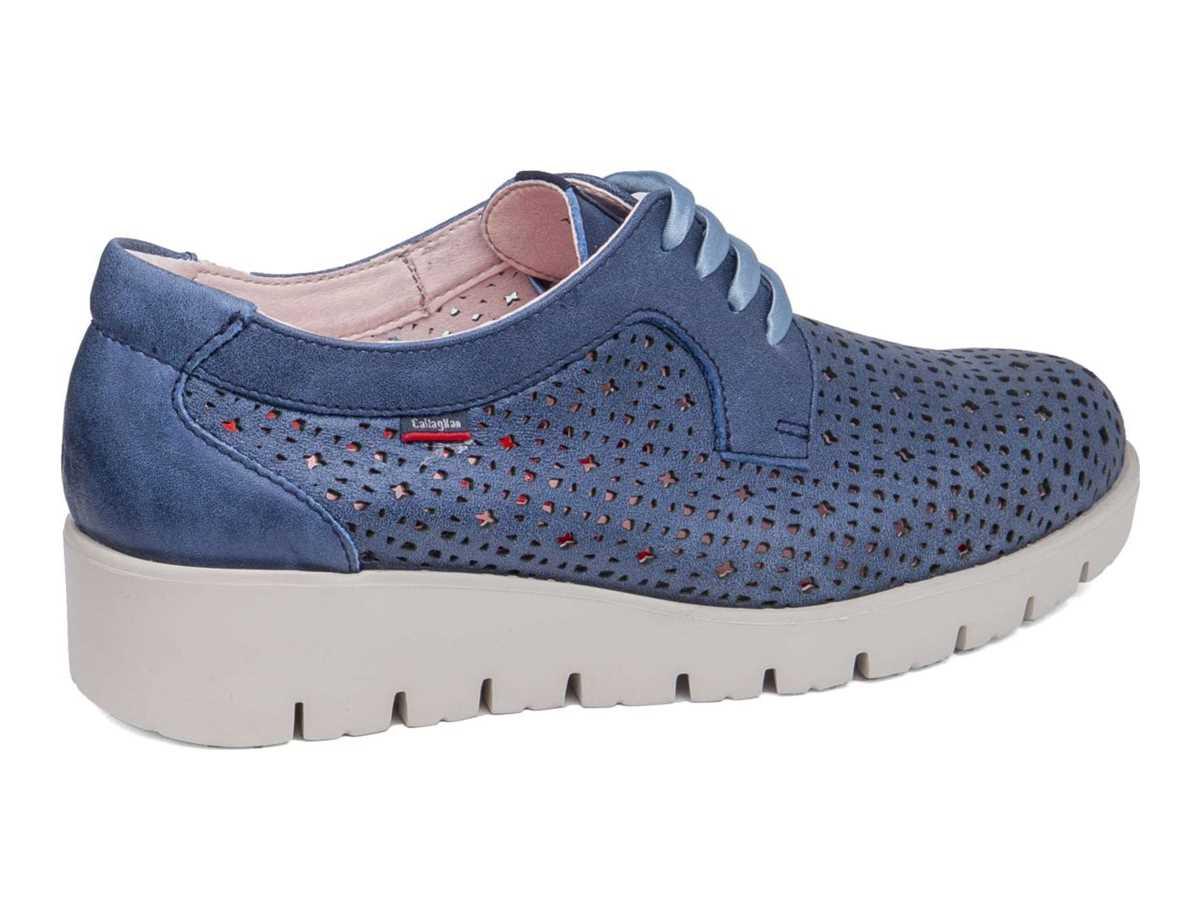 Callaghan Mujer Zapato Casual Azul