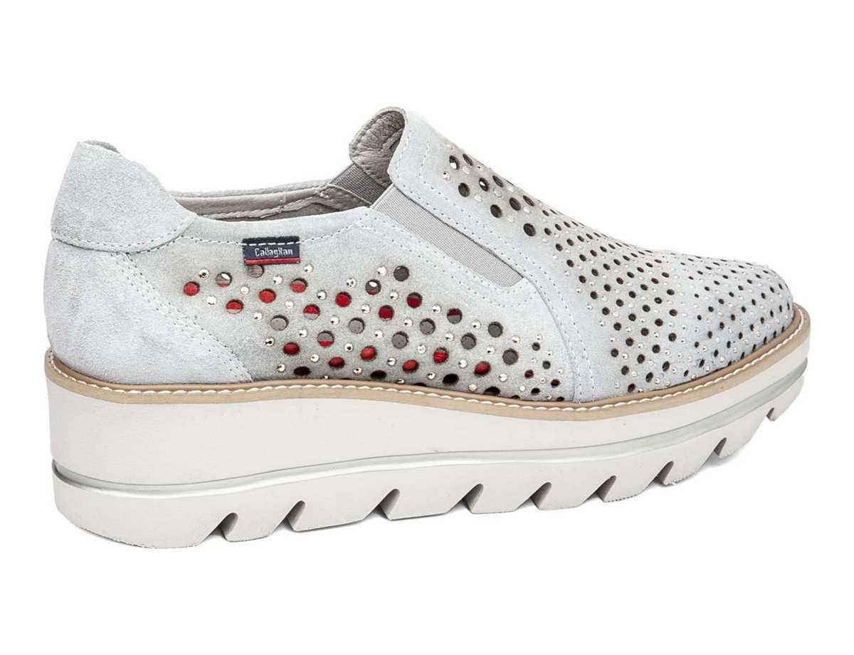 Callaghan Mujer Zapato Casual Plata