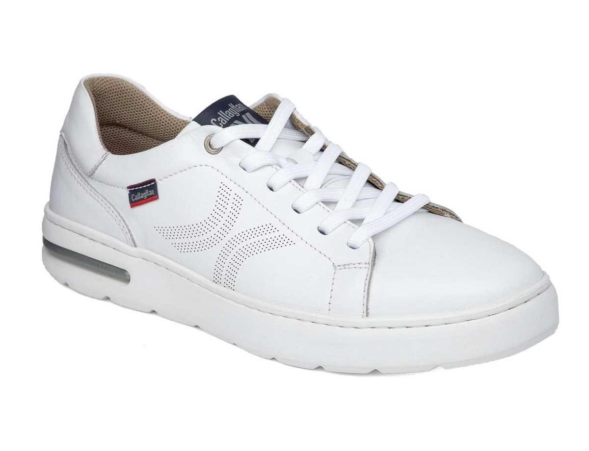 Callaghan Hombre Zapato Sport Blanco