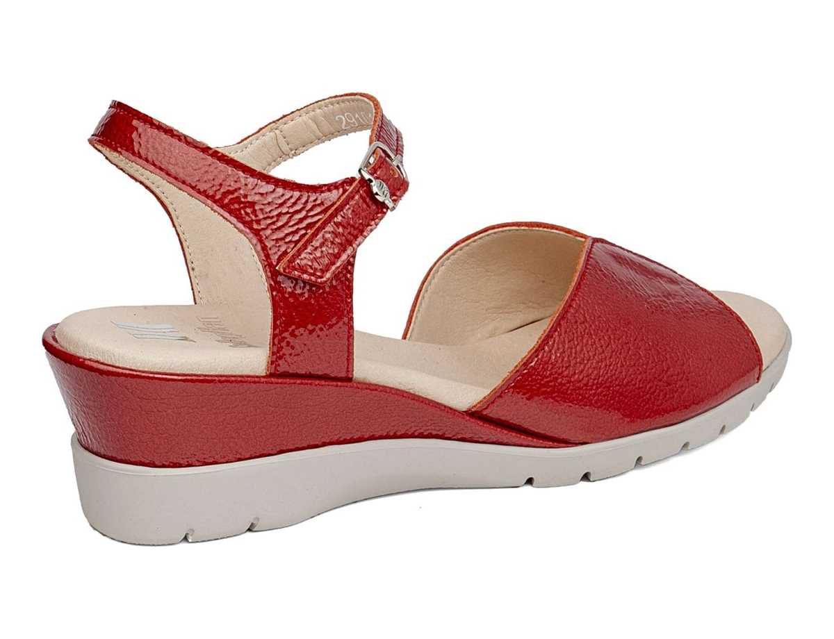 Callaghan Mujer Sandalia  Rojo