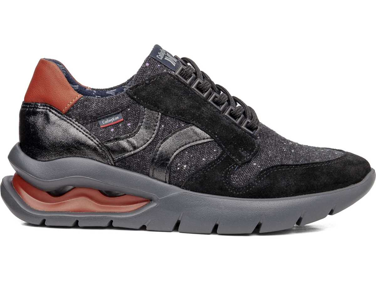 Callaghan Mujer Zapato Sneakers Negro
