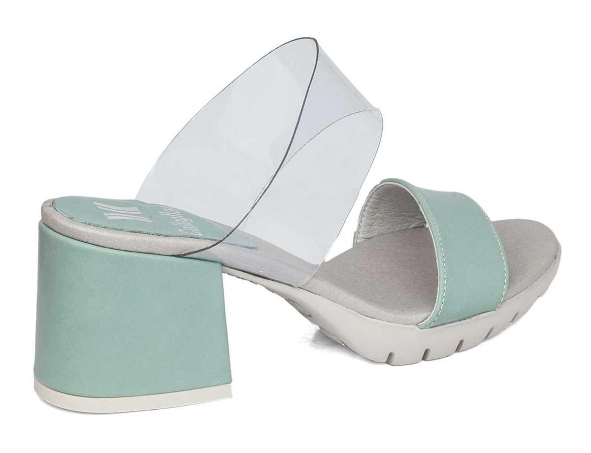 Callaghan Mujer Zapato Vestir Verde