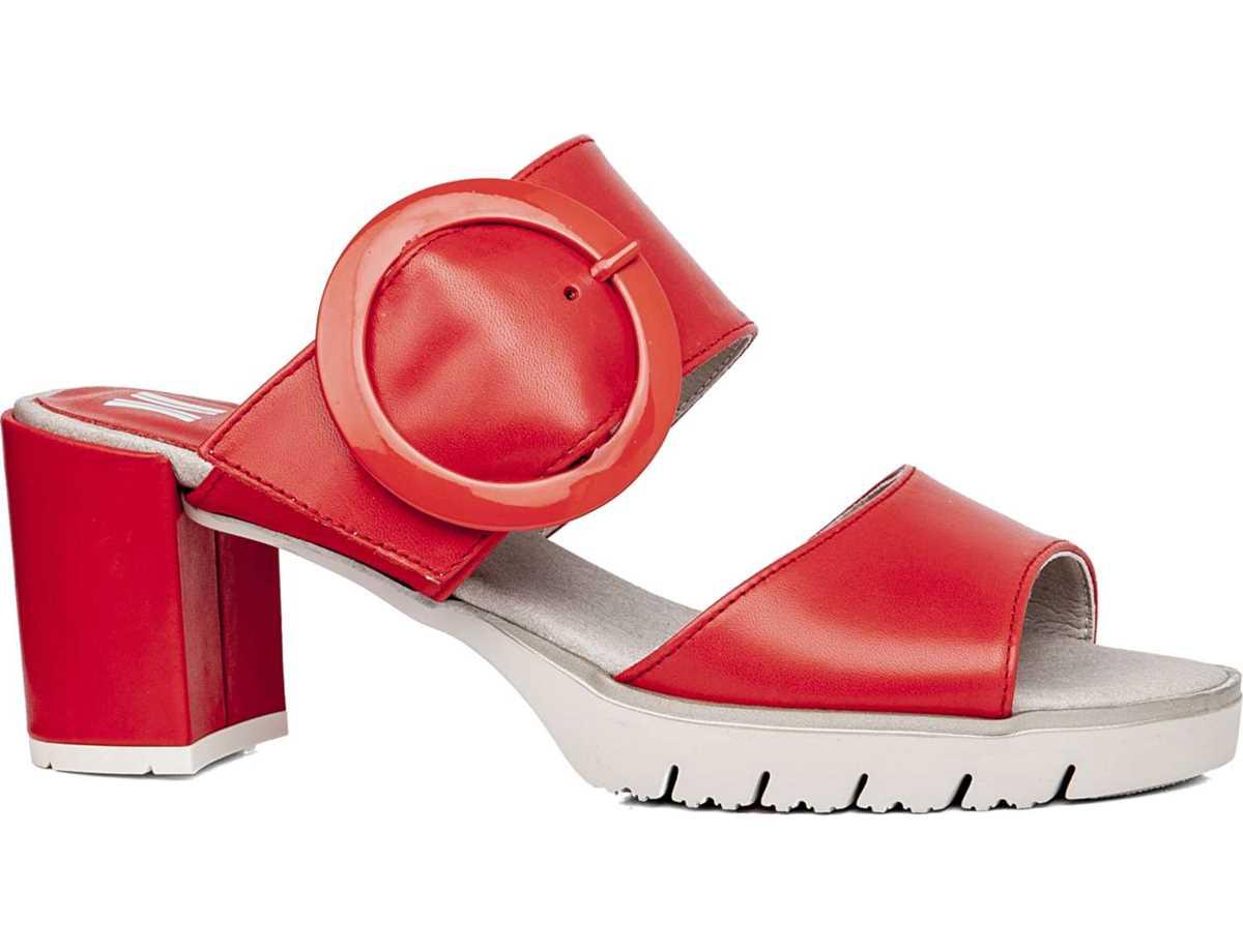 Callaghan Mujer Sandalia Casual Rojo