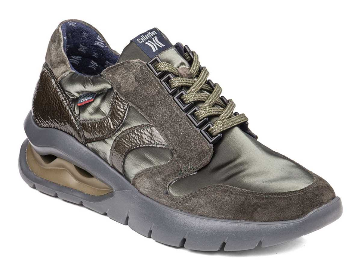 Callaghan Mujer Zapato Sneakers Verde