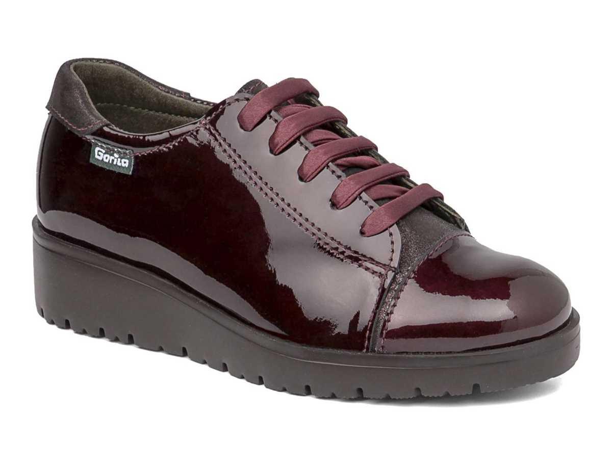 Gorila Niña Zapato Casual Rojo
