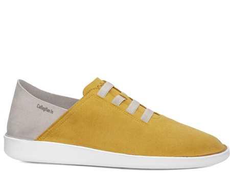 Callaghan Hombre Zapato Casual Amarillo Beig In Cro Persa