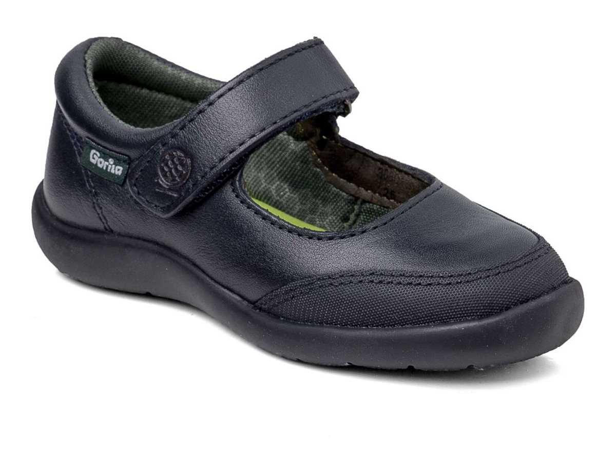 Gorila Niña Zapato Colegial Azul