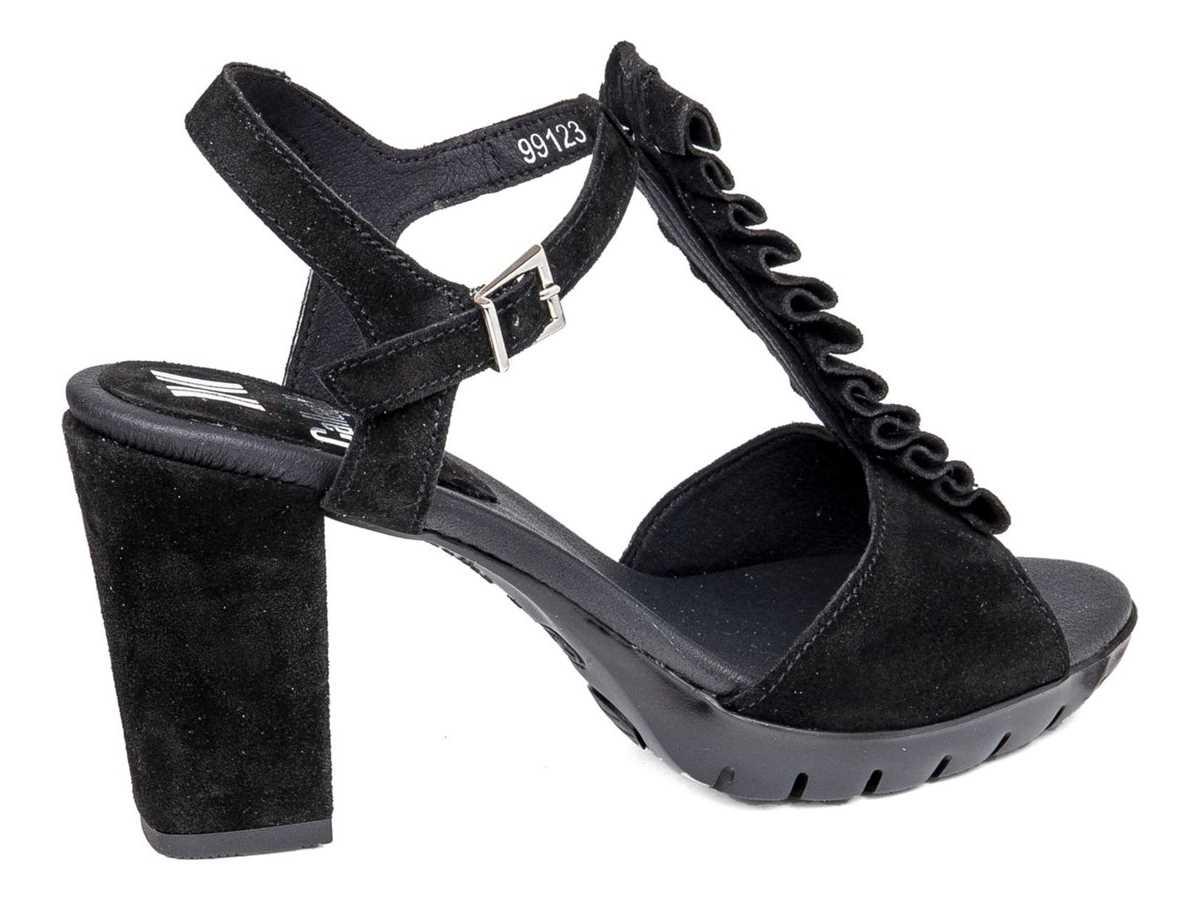 Callaghan Mujer Sandalia Vestir Negro