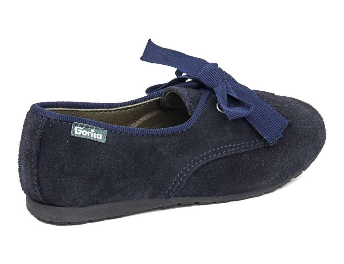 Gorila Niña Zapato Casual Azul