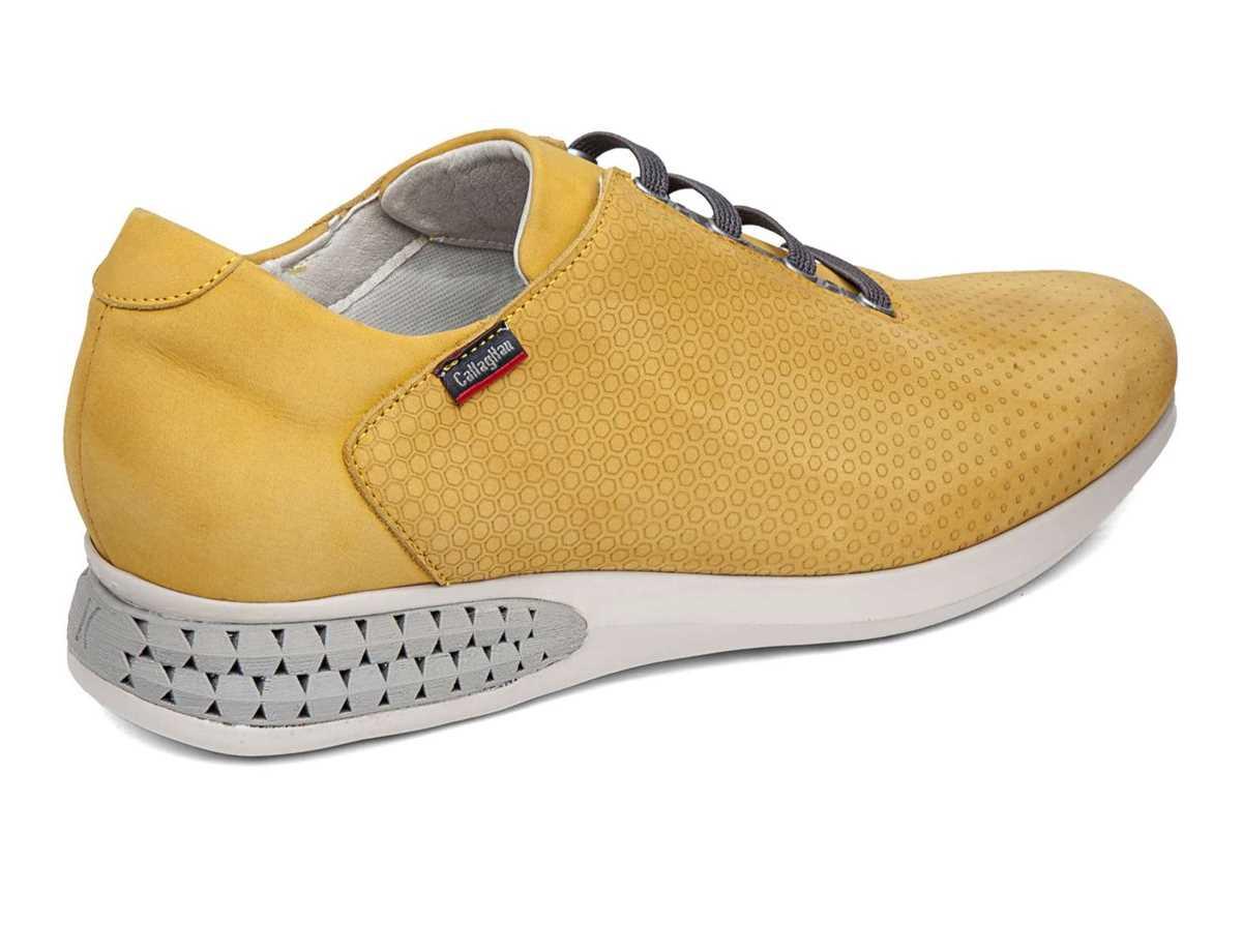Callaghan Hombre Zapato Sport Amarillo