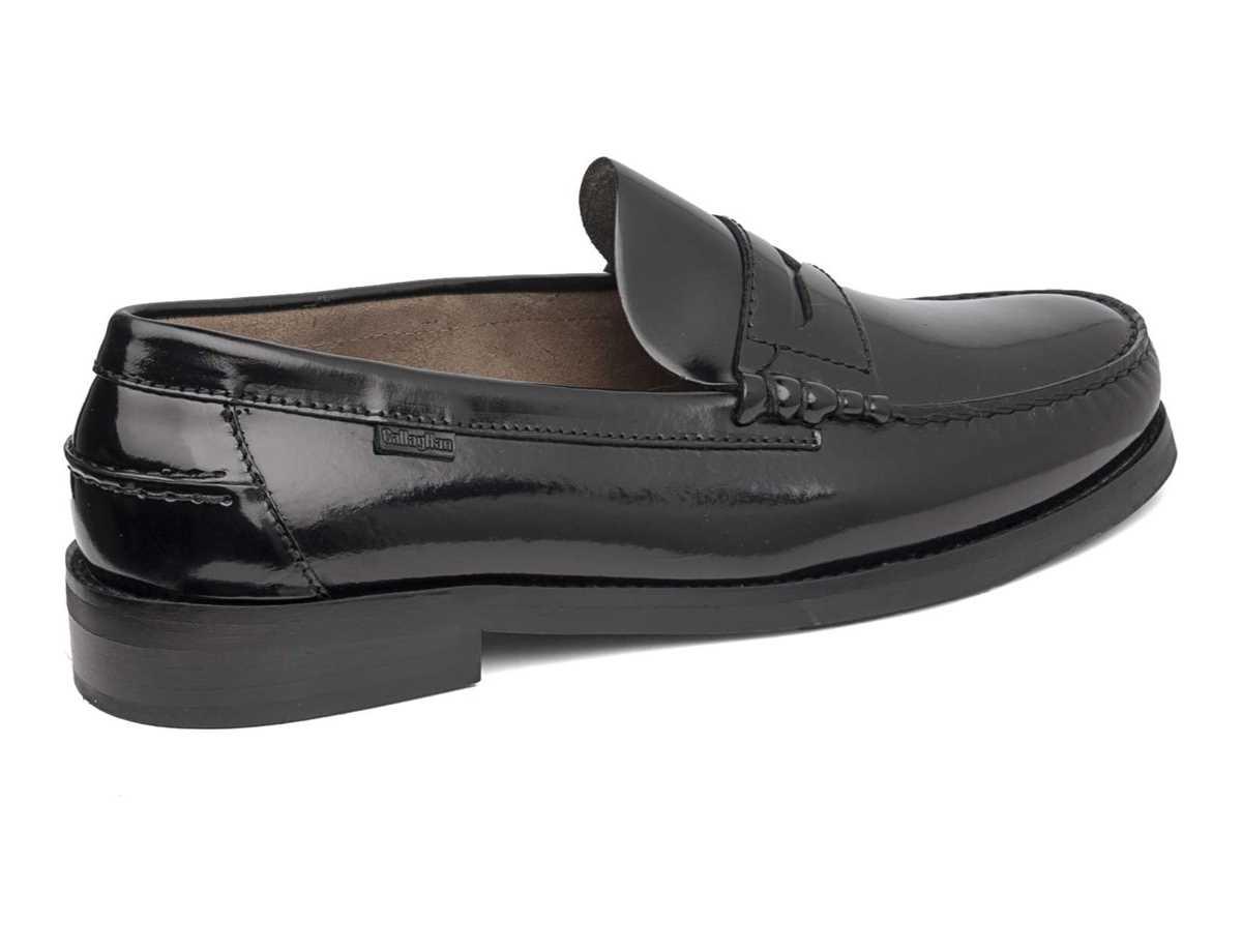 Callaghan Hombre Zapato Clasico Negro
