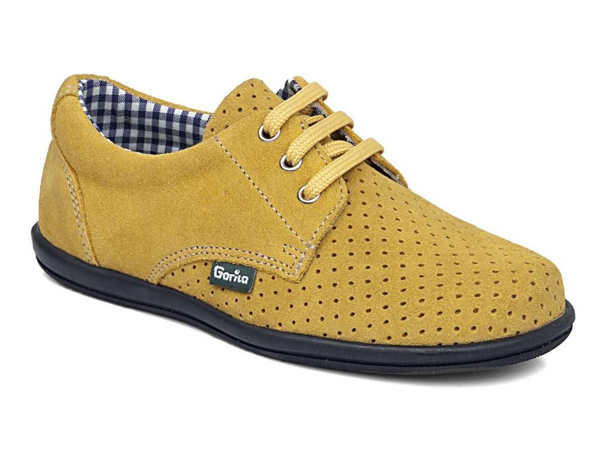 Gorila Niño Zapato Casual Amarillo