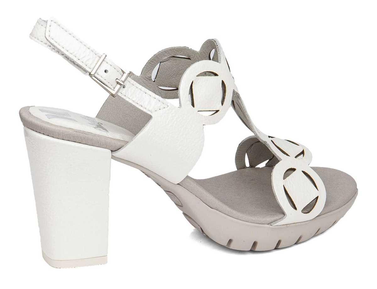 Callaghan Mujer Sandalia Vestir Blanco