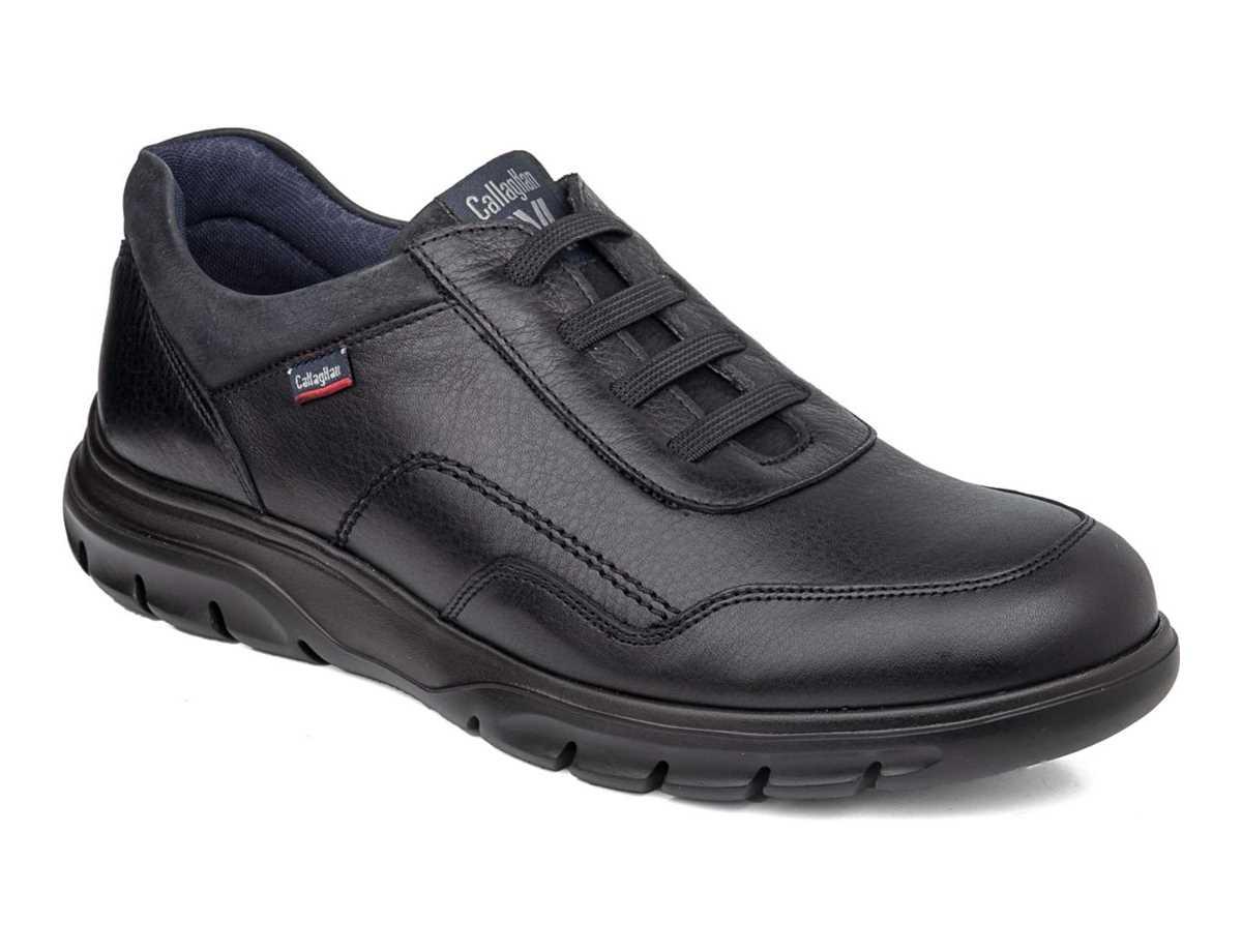 Callaghan Hombre Zapato Casual Negro