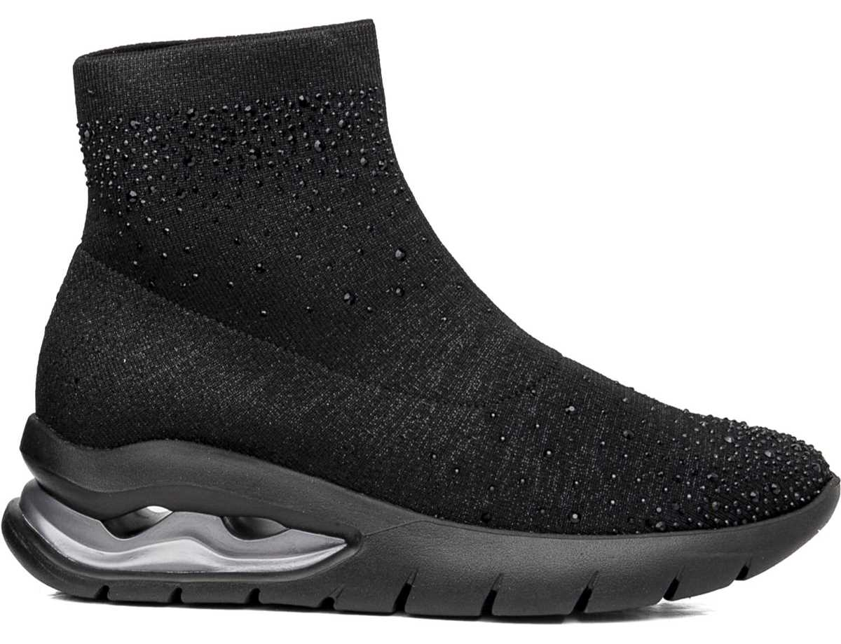 Callaghan Mujer Botin Sneakers Negro