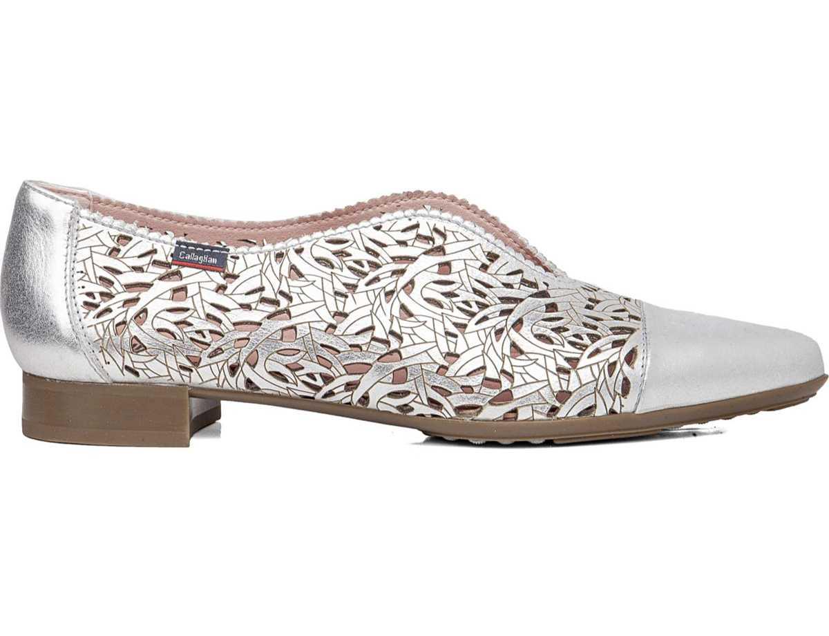 Callaghan Mujer Zapato Clasico Plata