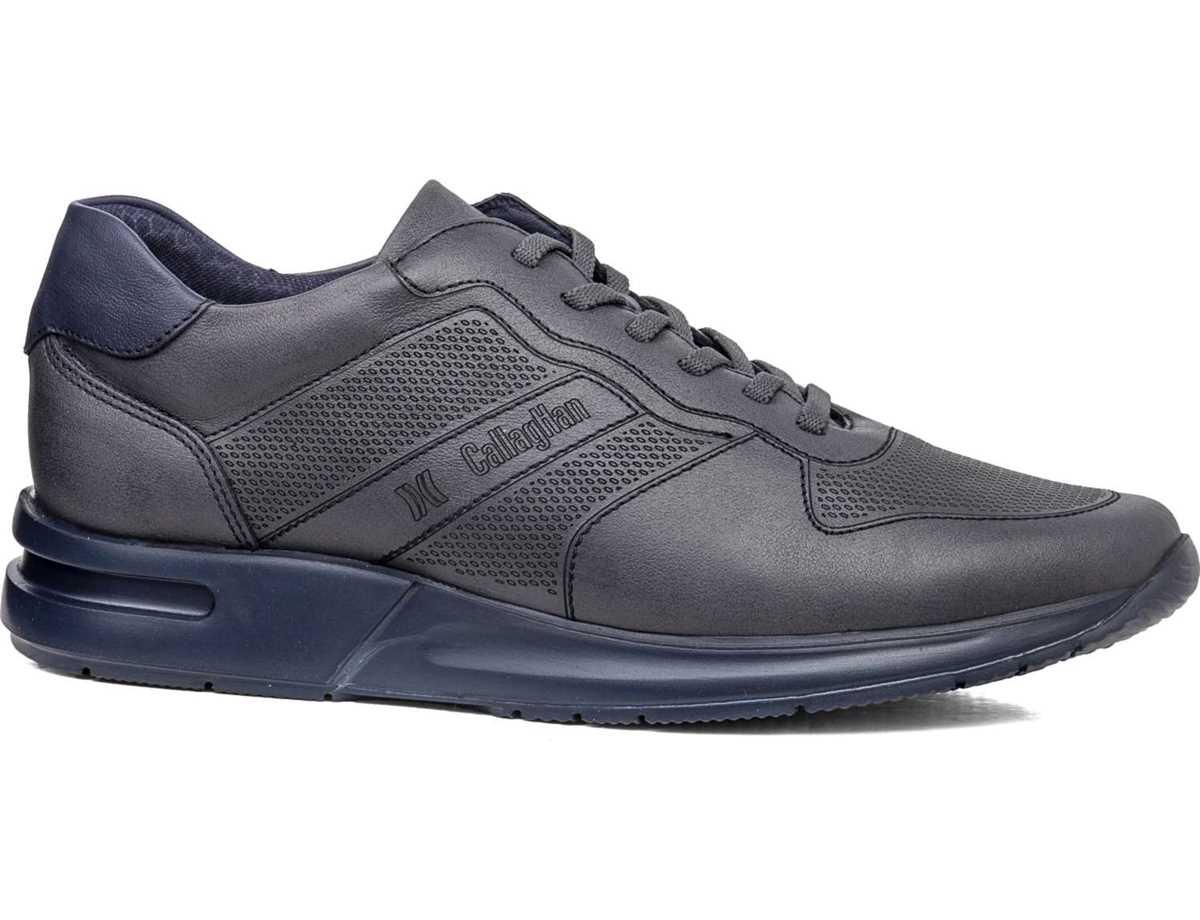 Callaghan Hombre Zapato Sneakers Gris