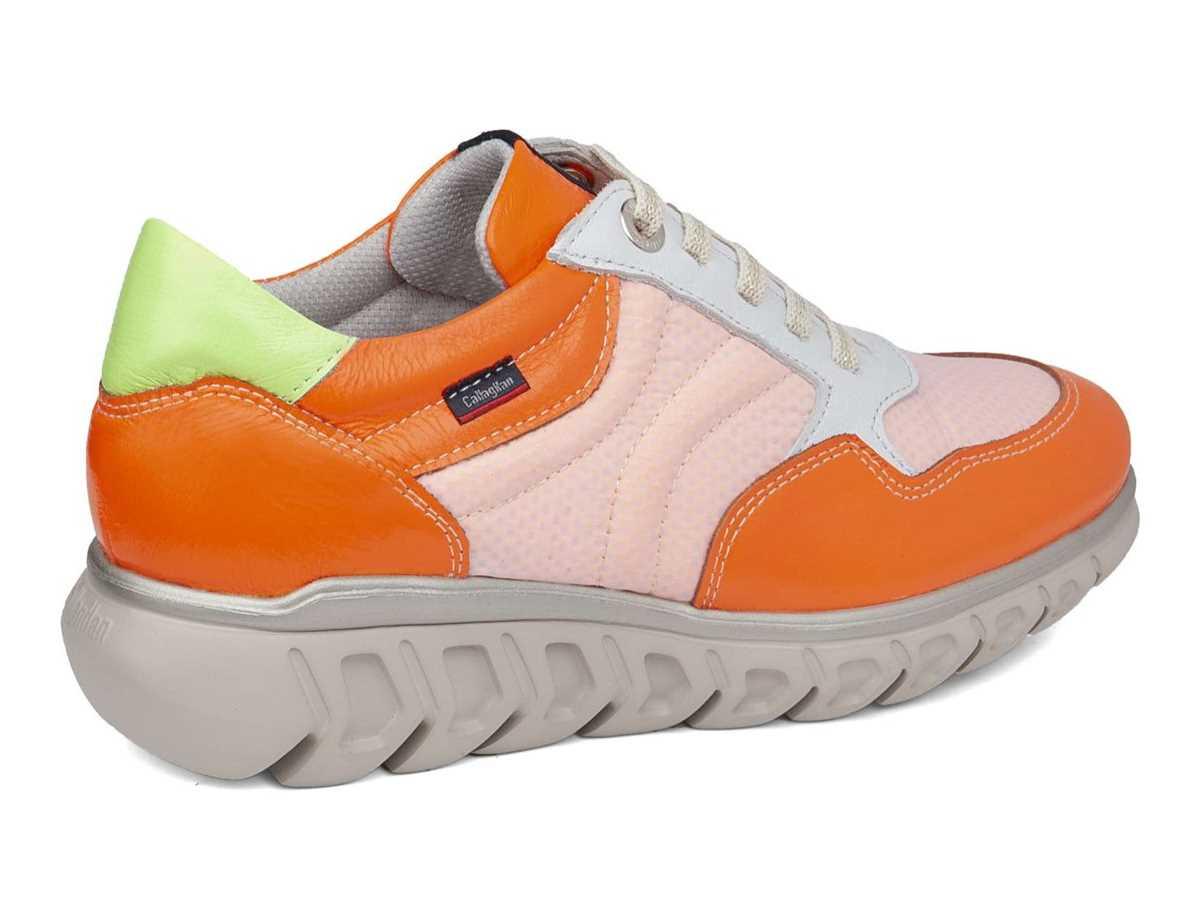 Callaghan Mujer Zapato Sport Naranja