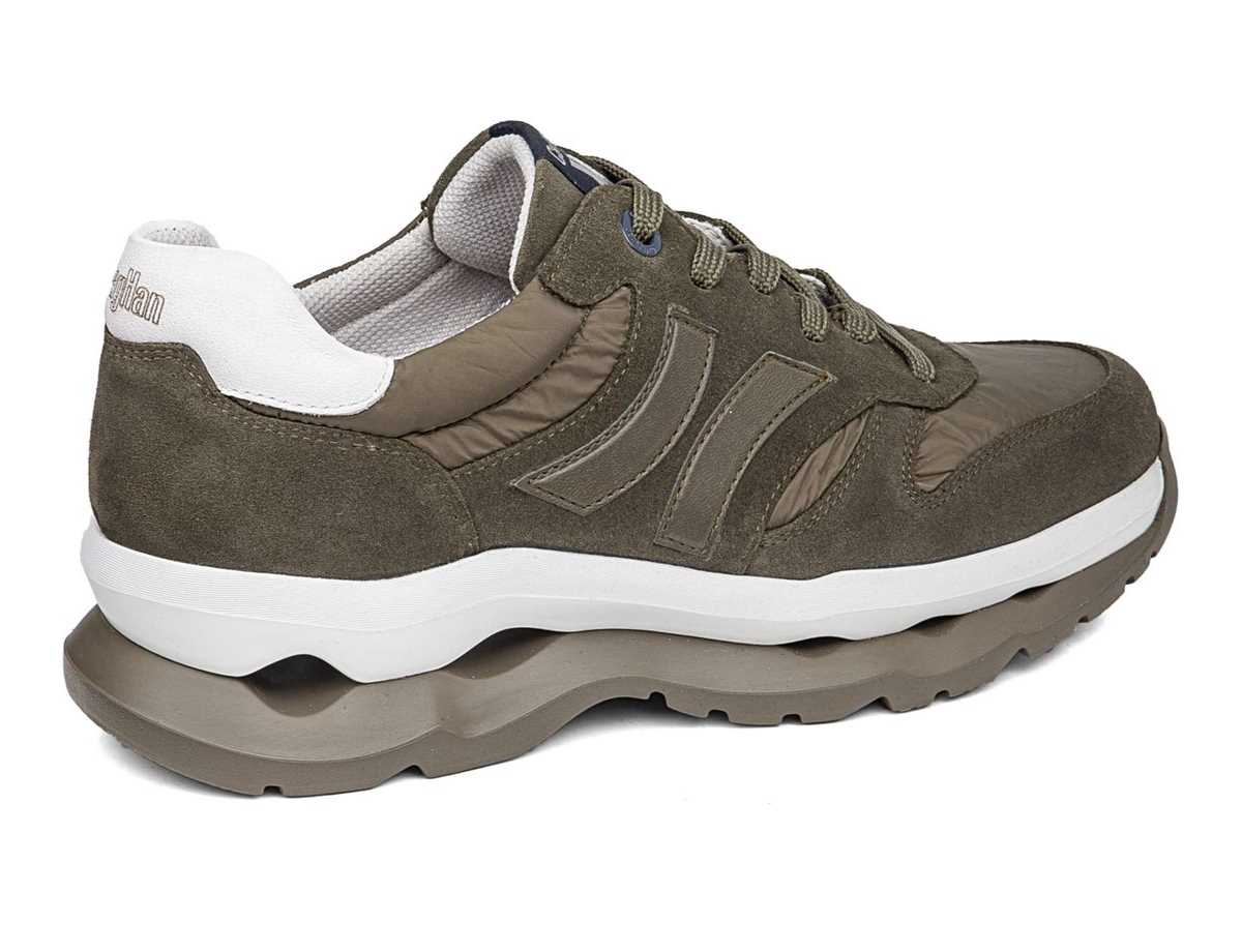 Callaghan Hombre Zapato Sneakers Verde