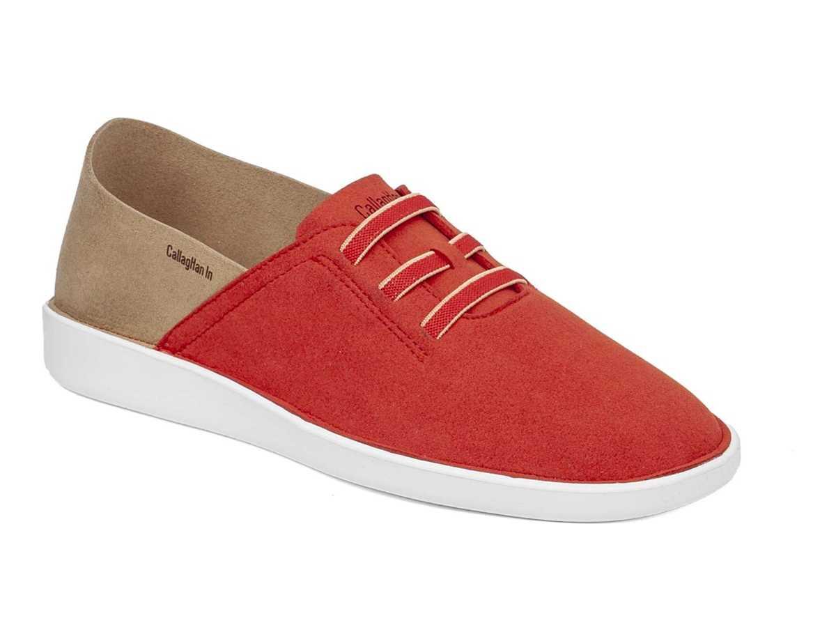 Callaghan Mujer Zapato Casual Rojo