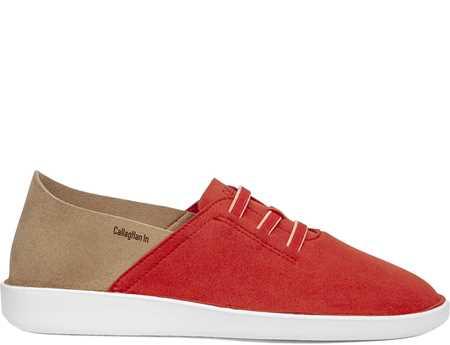 Callaghan Hombre Zapato Casual Rojo Beig In Sra Persa