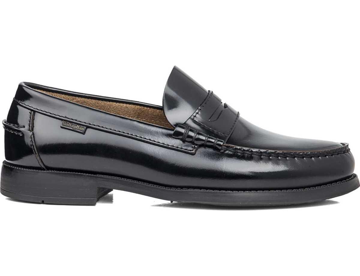 Callaghan Hombre Zapato Vestir Negro