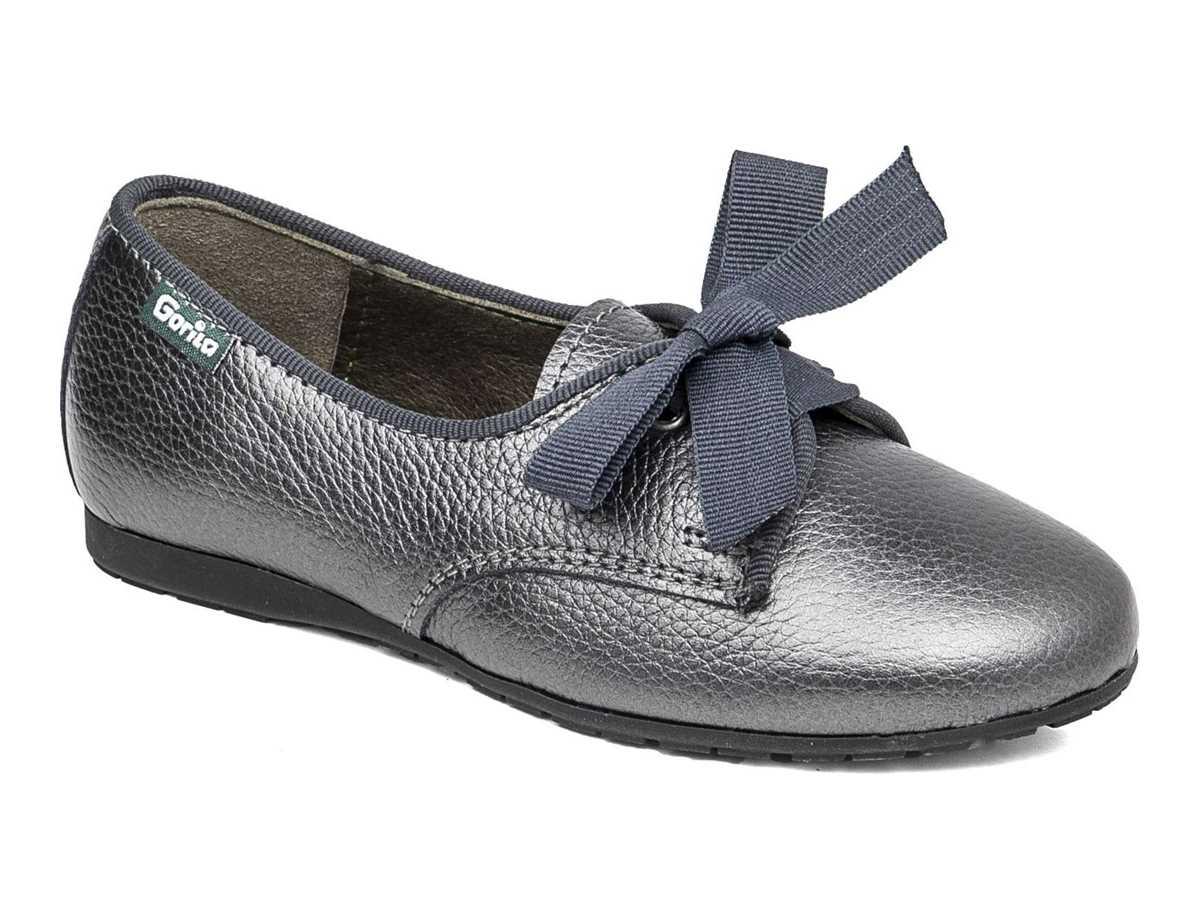Gorila Niña Zapato Casual Plata