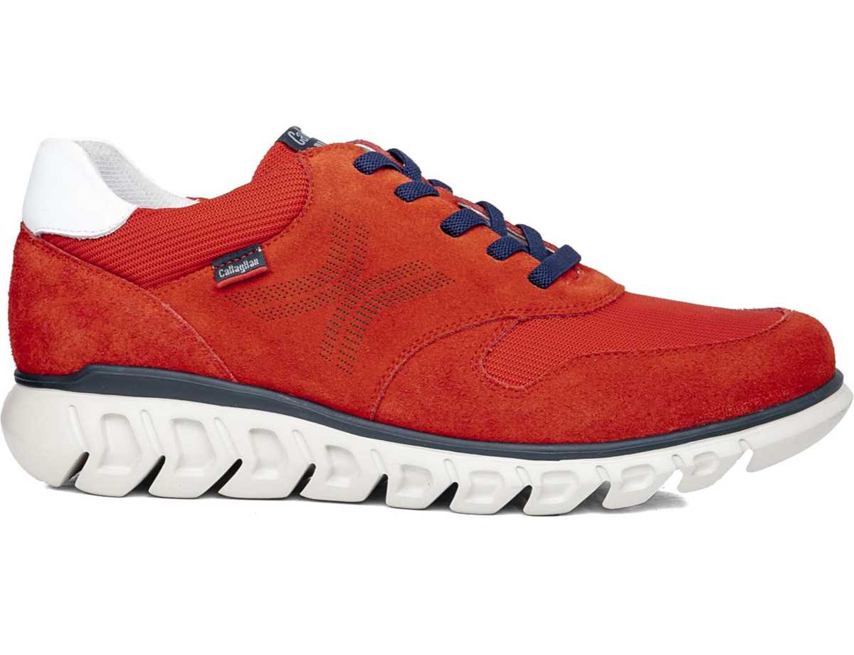 Callaghan Hombre Zapato Casual Rojo