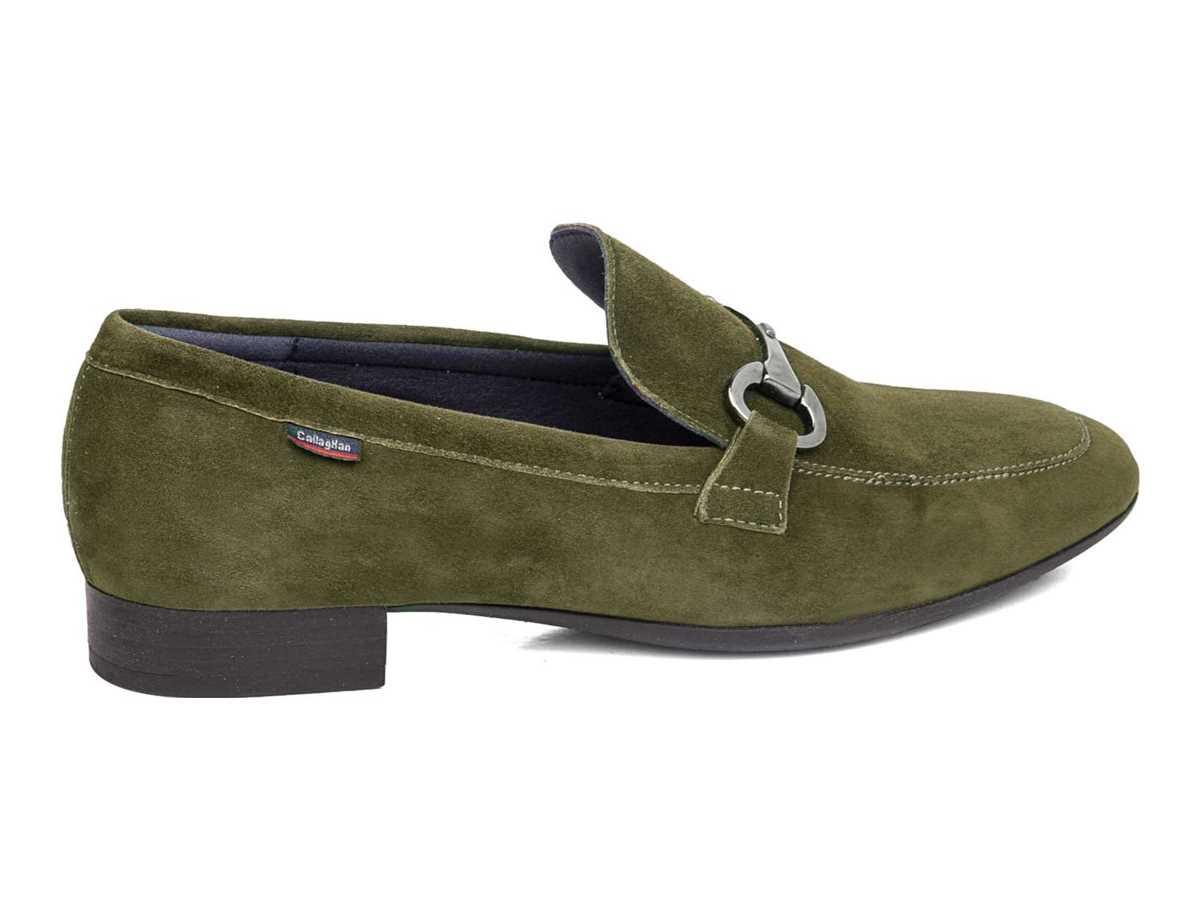 Callaghan Mujer Zapato Clasico Verde