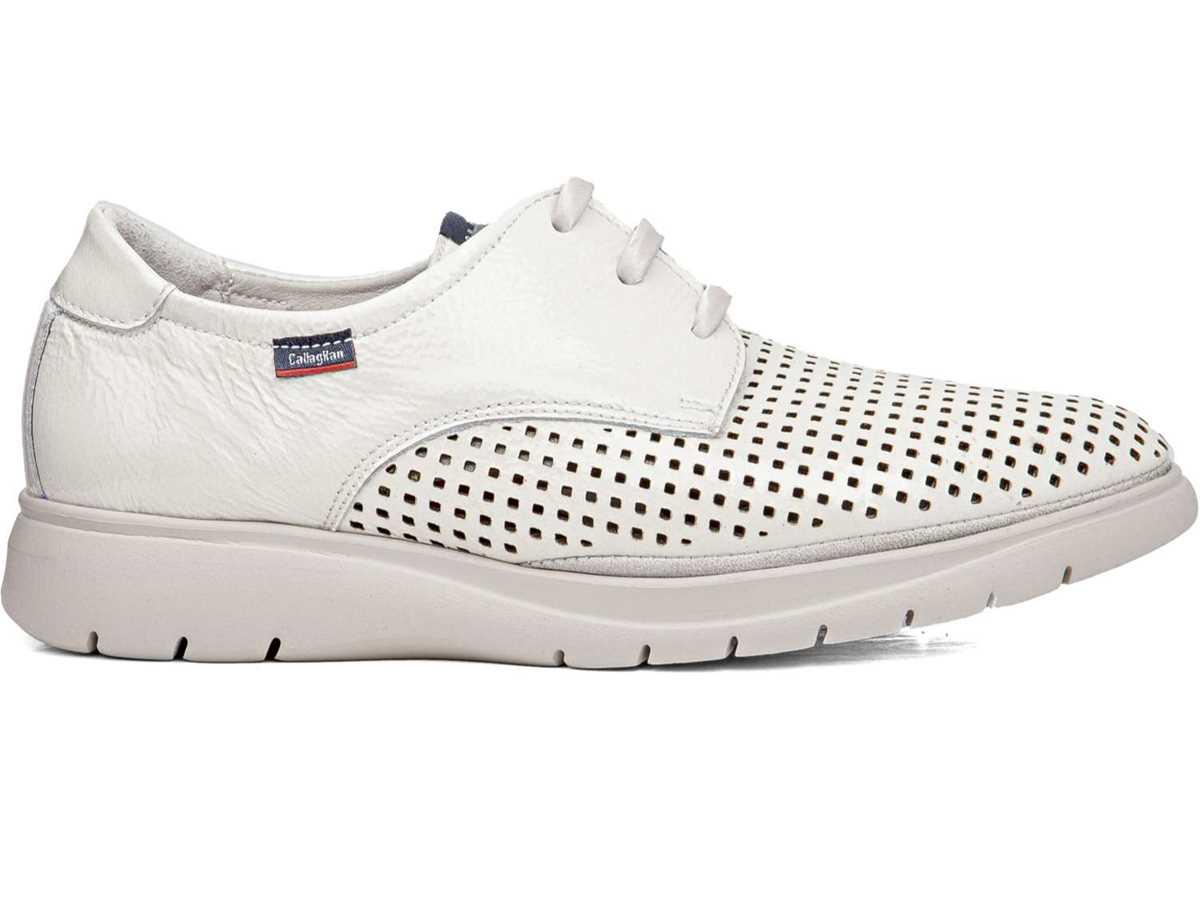 Callaghan Mujer Zapato Casual Blanco
