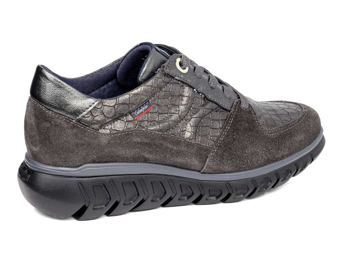 Callaghan Mujer Zapato Sneakers Gris