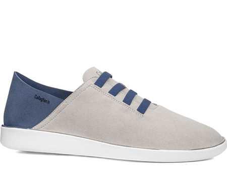 Callaghan Hombre Zapato Casual Beig Azul In Cro Hielo Persa