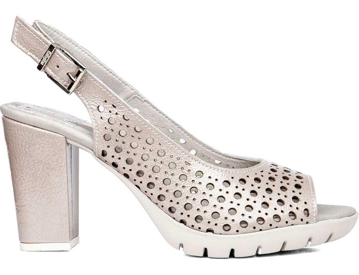Callaghan Mujer Zapato Vestir Beig