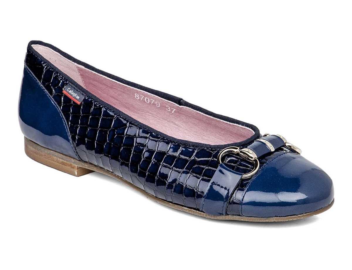 Callaghan Mujer Bailarina Casual Azul