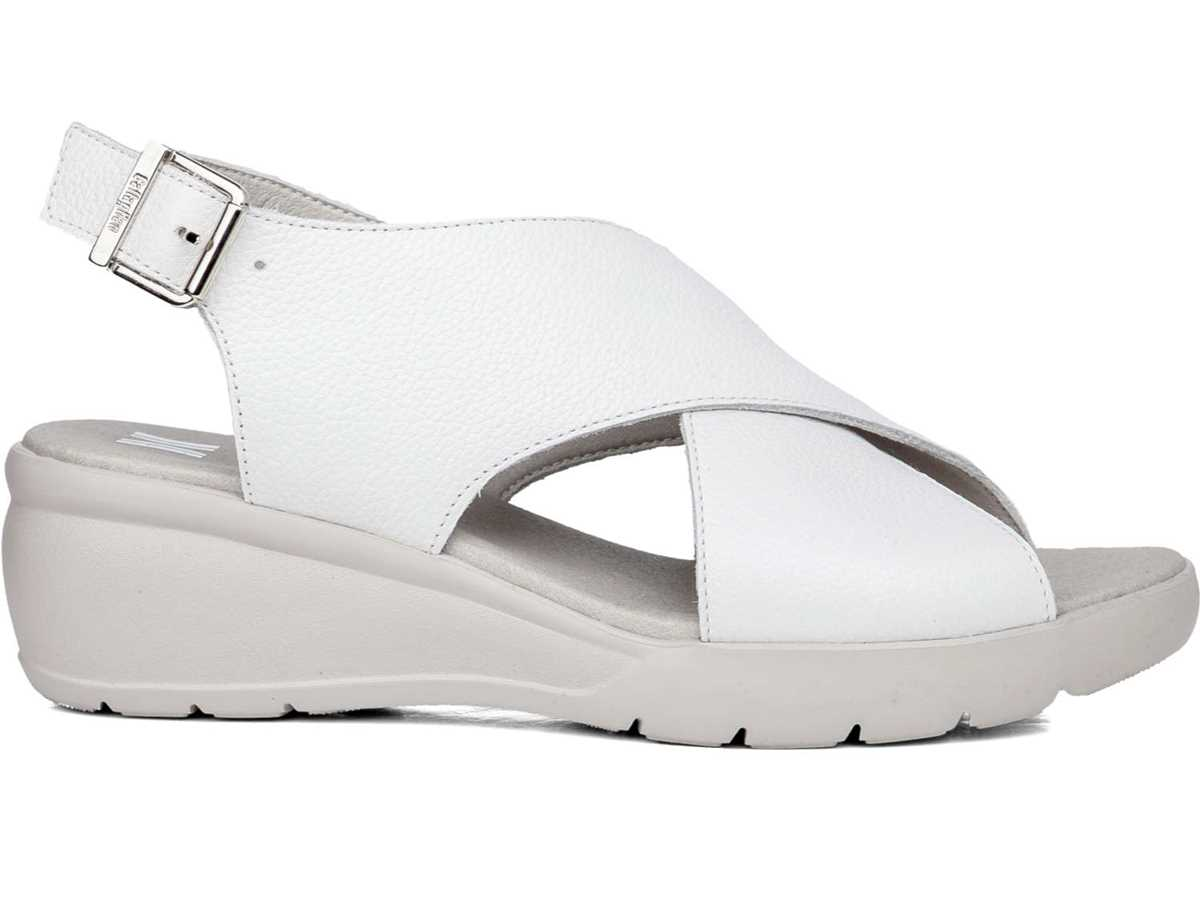 Callaghan Mujer Sandalia Casual Blanco