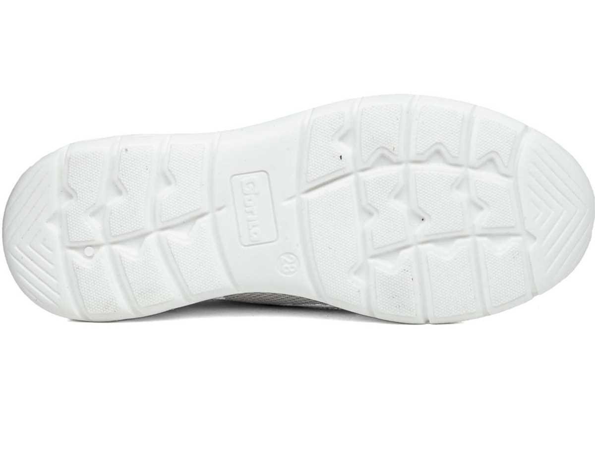 Gorila Niña Zapato Sport Blanco