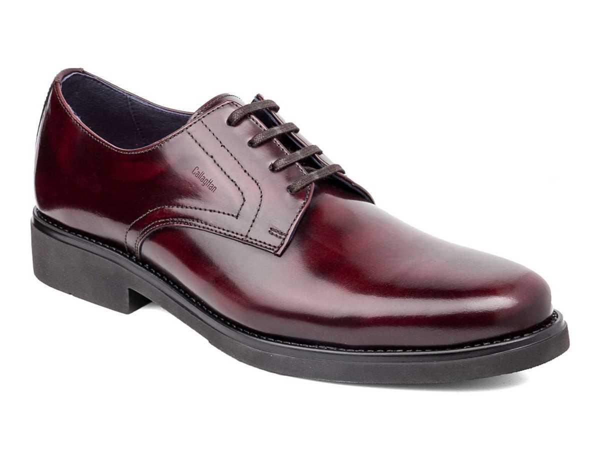 Callaghan Hombre Zapato Vestir Rojo
