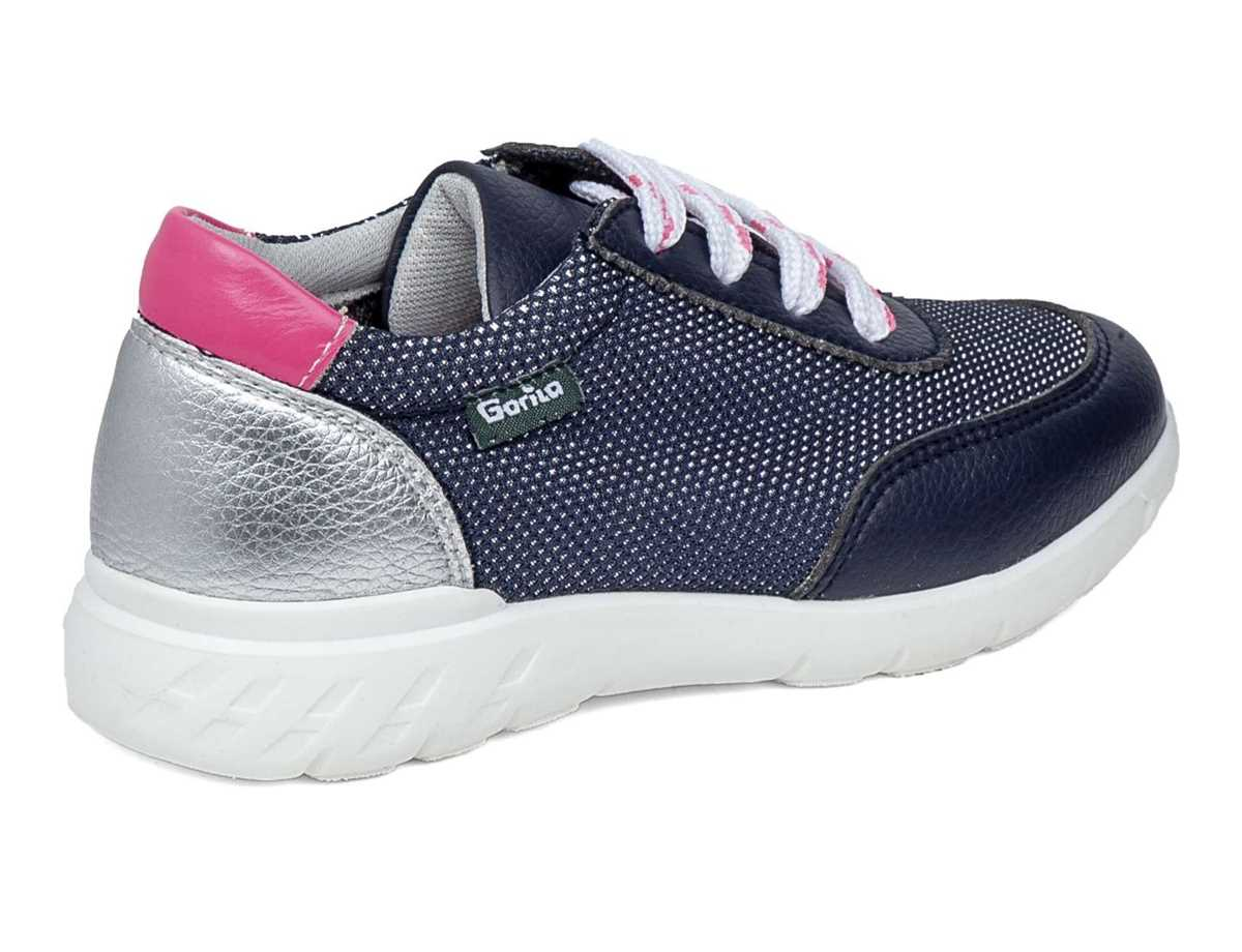 Gorila Niña Zapato Sport Azul