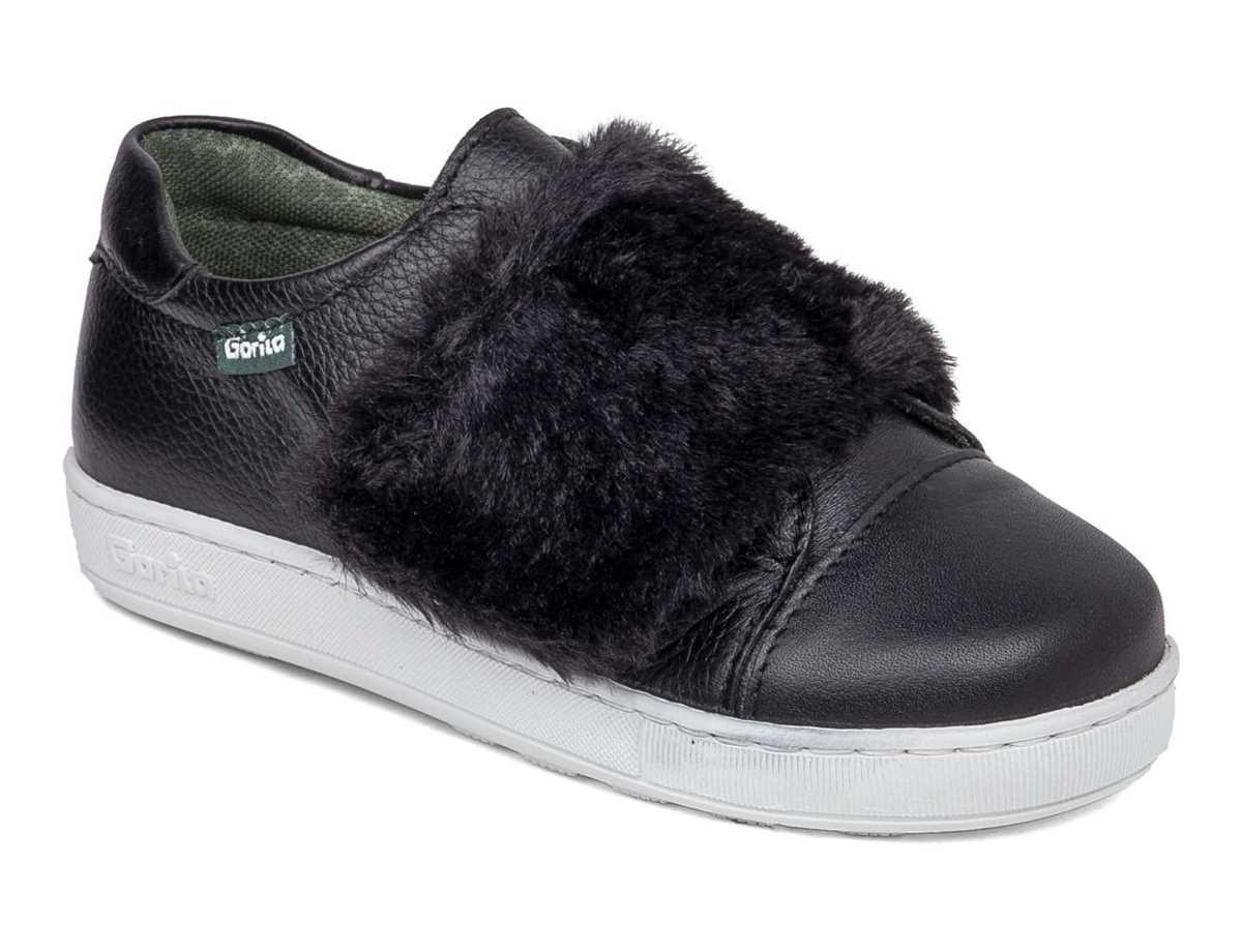 Gorila Niña Zapato Casual Negro