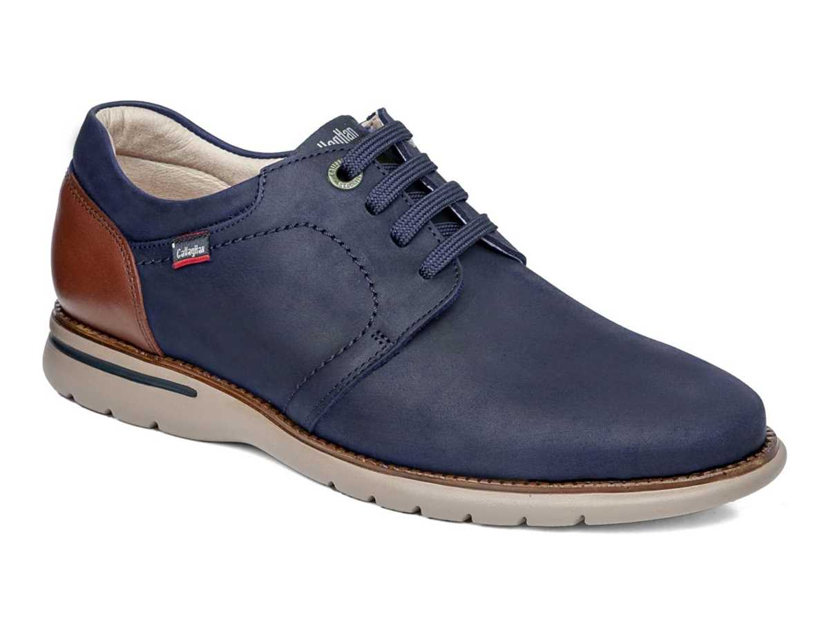 Callaghan Hombre Zapato Clasico Azul