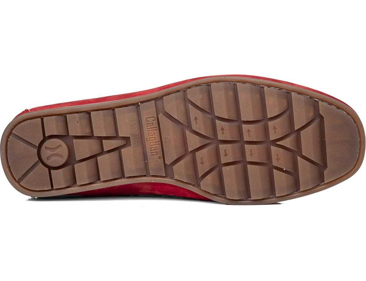Callaghan Hombre Zapato Sport Rojo