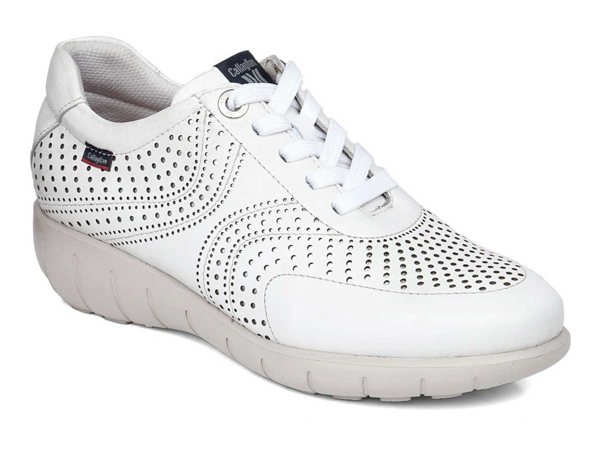Callaghan Mujer Zapato Casual Blanco