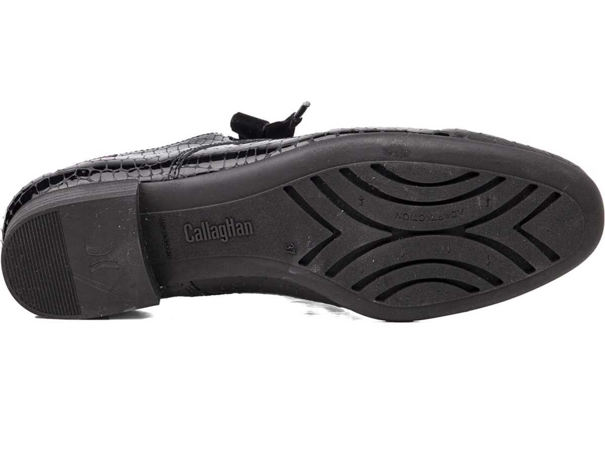 Callaghan Mujer Zapato Clasico Negro