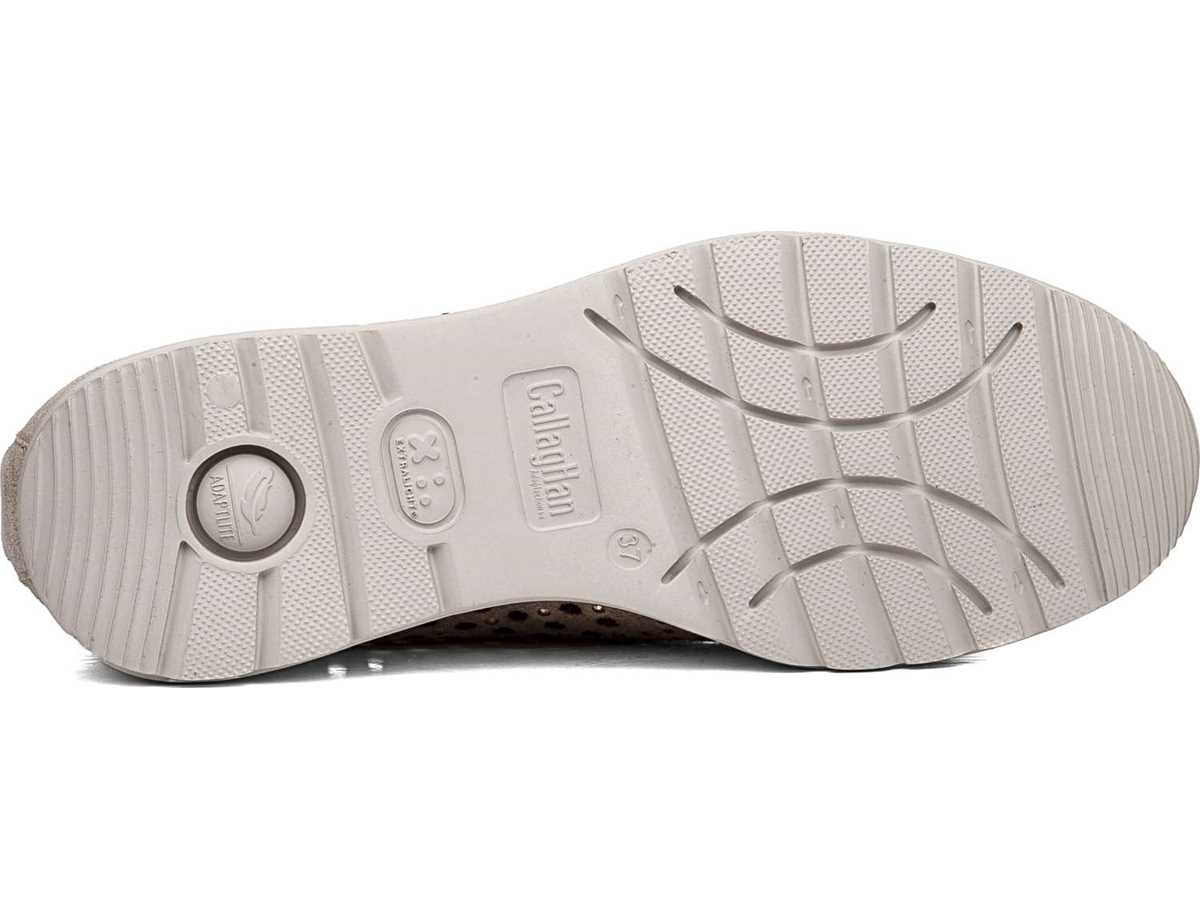 Callaghan Mujer Zapato Sneakers Platino