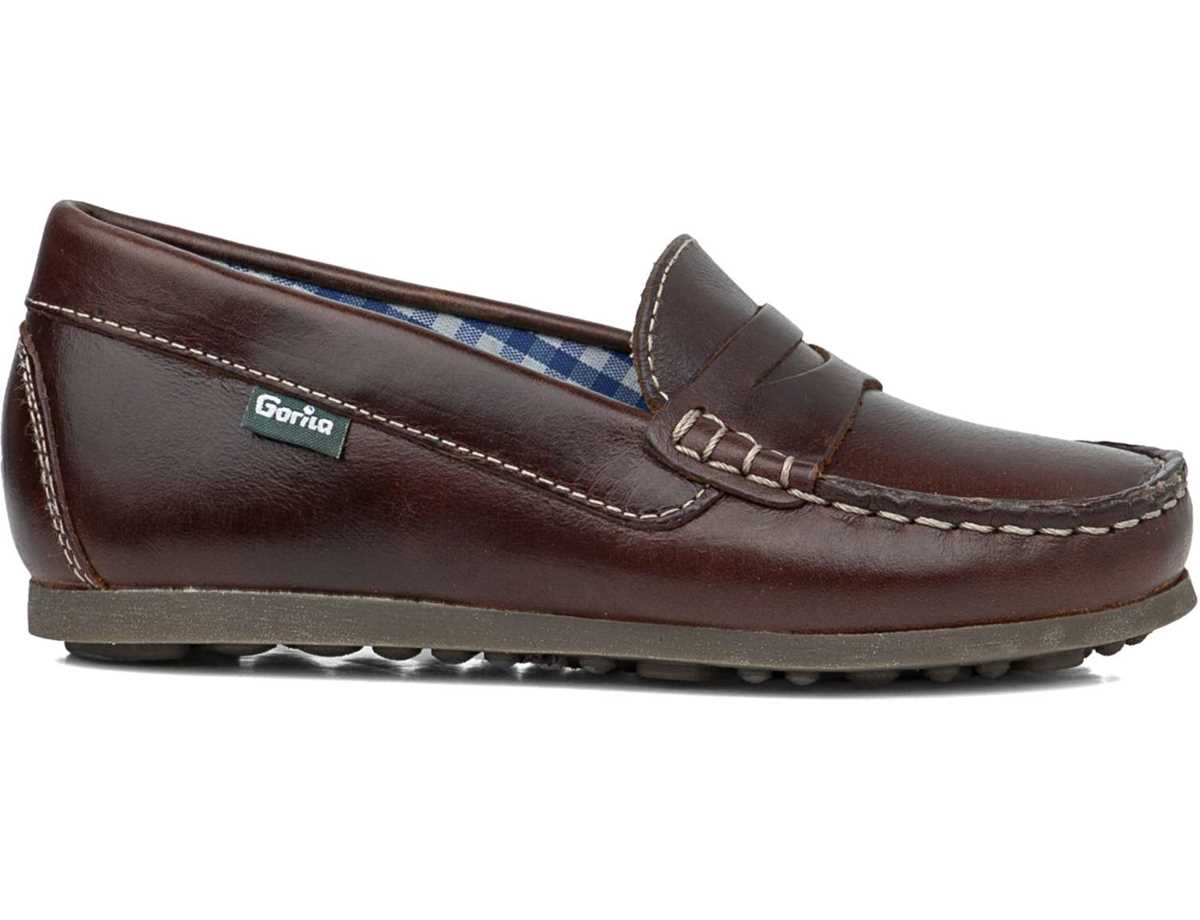 Gorila Niño  Casual Marron